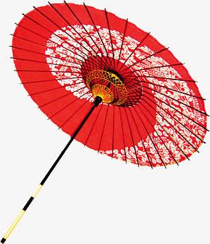 免扣png 古风 雨伞素材