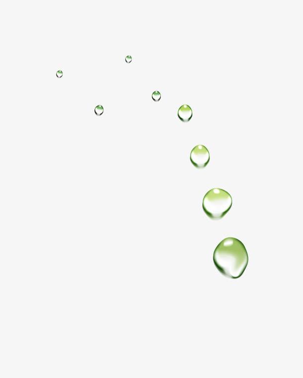 水滴,漂浮,png素材,装饰