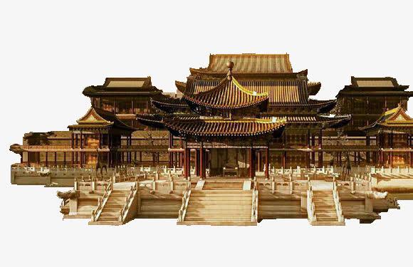 宫殿建筑png素材