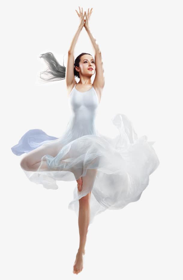 跳舞中的美女