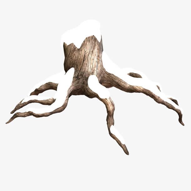 木桩雪盖住的木桩免抠素材免费下载_觅元素51yuansu.