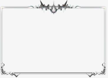 边框白色质感边框装饰免抠素材免费下载_觅元素51.