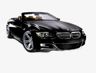 汽车png素材黑色宝马图标