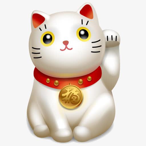 招财猫卡通可爱