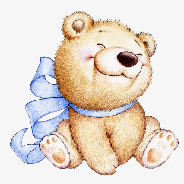 卡通可爱小熊