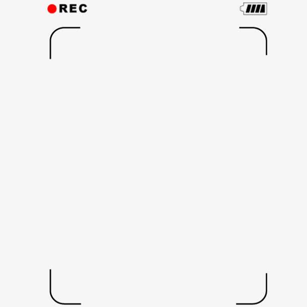 装饰元素 边框 > 录像rec镜头  收藏 [声明] 觅元素所有素材为用户