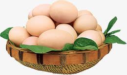 鸡蛋一篮子鸡蛋装饰