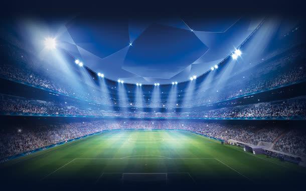 世界杯欧洲杯全屏海报背景球场