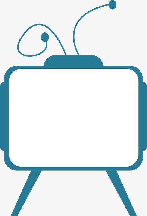 卡通电视机边框 鲁迅先生头像简笔画图片