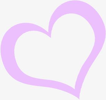 紫色爱心素材免抠素材免费下载_觅元素51yuansu.com