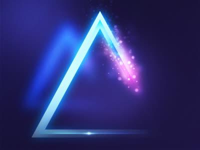 炫酷创意几何三角形背景免抠素材免费下载_觅元素51.
