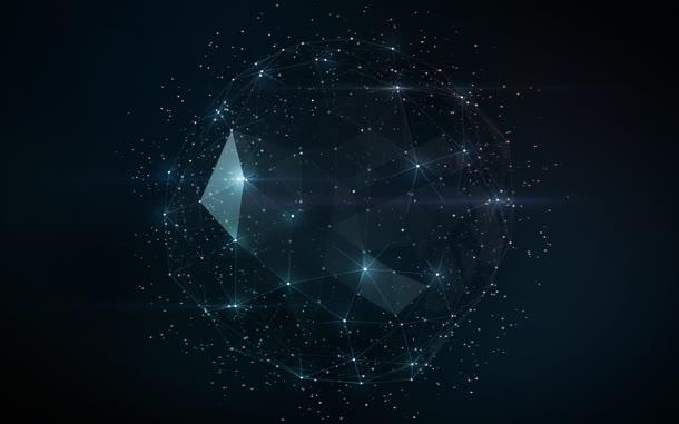 光效宇宙星空背景矢量素材