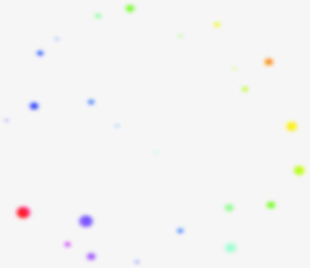七彩色小点漂浮海报免抠素材免费下载_觅元素51yuansu