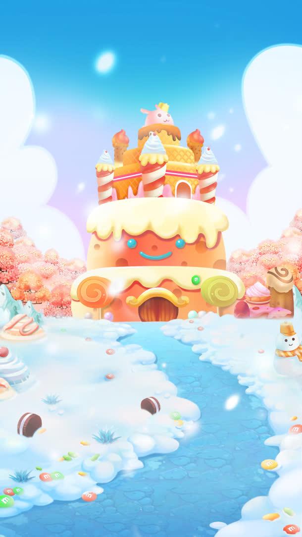 蛋糕糖果游戏图片