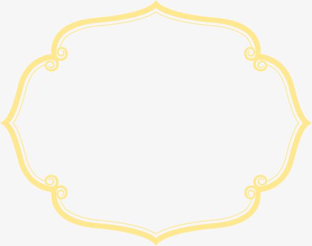 古风黄色线条背景免抠素材免费下载_觅元素51yuansu.