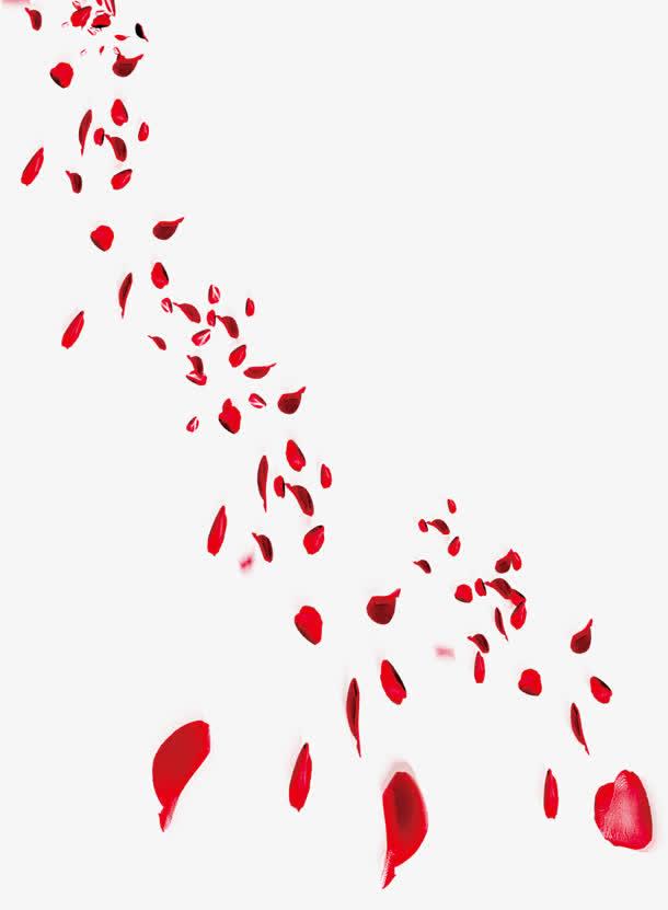 玫瑰花瓣边框唯美