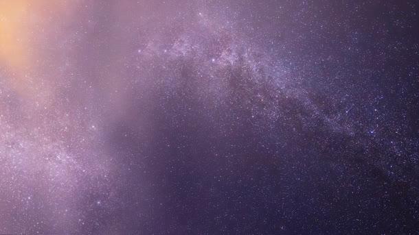 紫色星空黄色光效渲染效果免抠素材免费下载_觅元素51