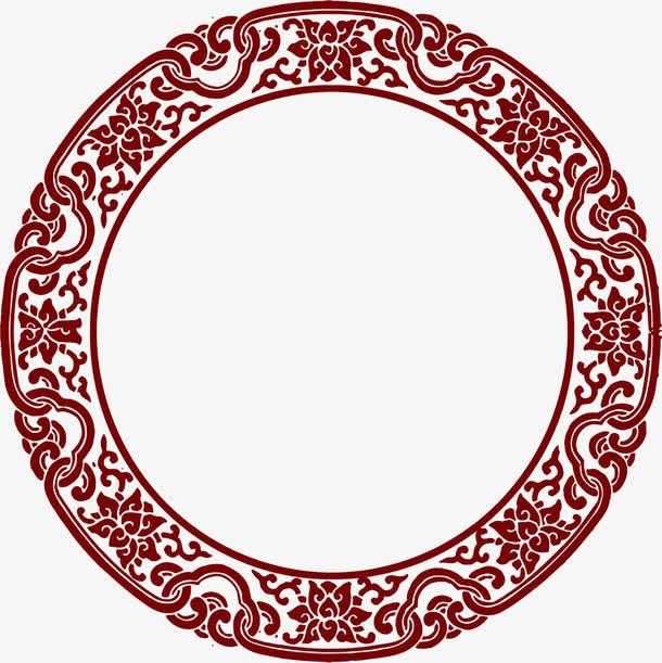 圆形图形中国风元素免抠素材免费下载_觅元素51yuansu