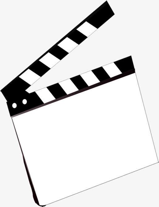 黑色手绘打板电影免抠素材免费下载_觅元素51yuansu.