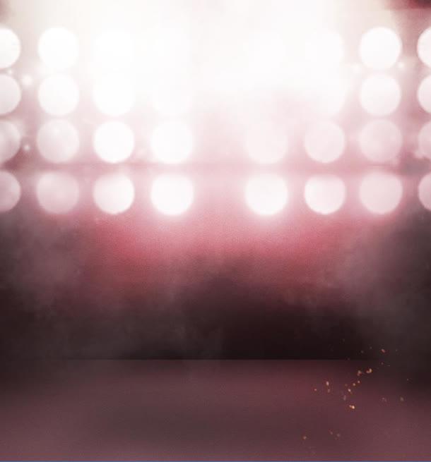 红色灯光梦幻舞台免抠素材免费下载_觅元素51yuansu.