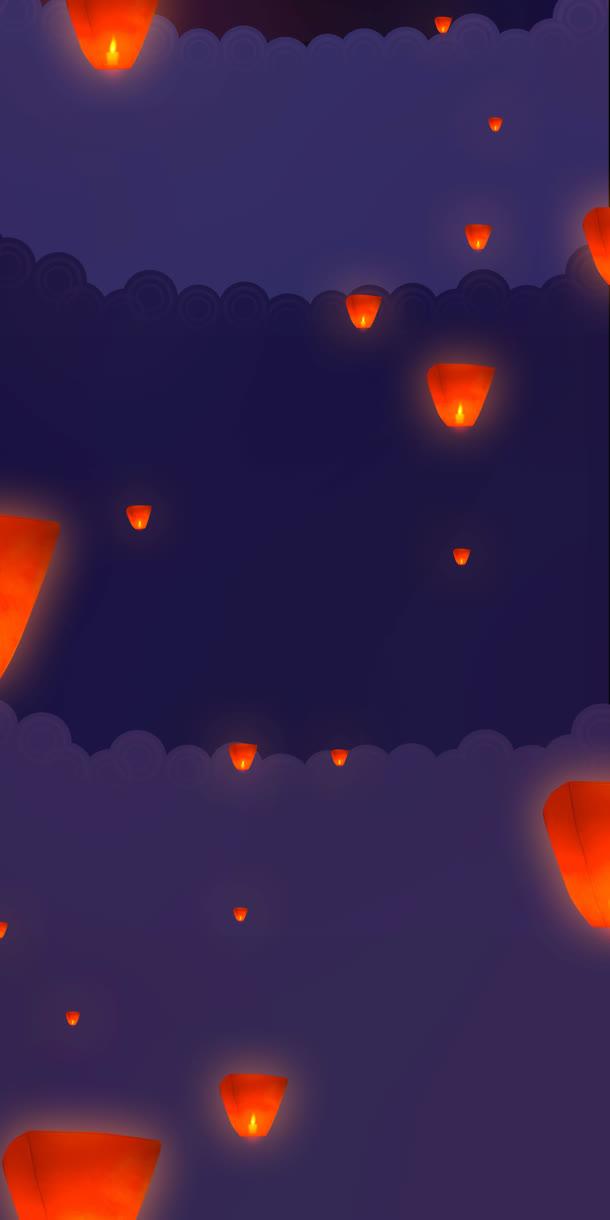 卡通孔明灯灯笼装饰元素免抠素材免费下载_觅元素51.