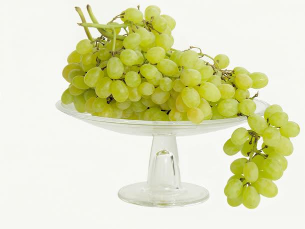 高清绿色葡萄食物